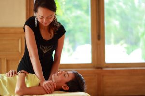 Demonstratie Esalen Massage Certification Training